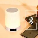 Radio Réveil Lumineuse Bluetooth avec Recharge USB