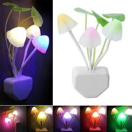 Veilleuse en Forme de Champignon avec LED