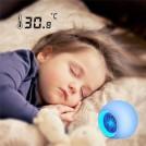Radio Réveil avec Lumière Multi-couleur pour Enfant