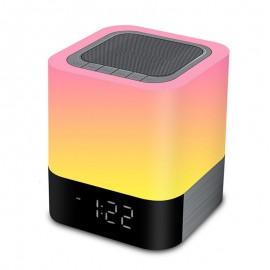 Radio Réveil pour Recharge USB et Lecteur Musique Bluetooth