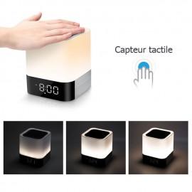 Radio Reveil pour Recharge USB et Lecteur Musique Bluetooth