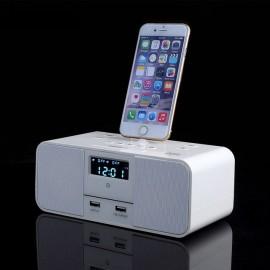 Radio Réveil Station de Recharge Bluetooth NFC et Port USB